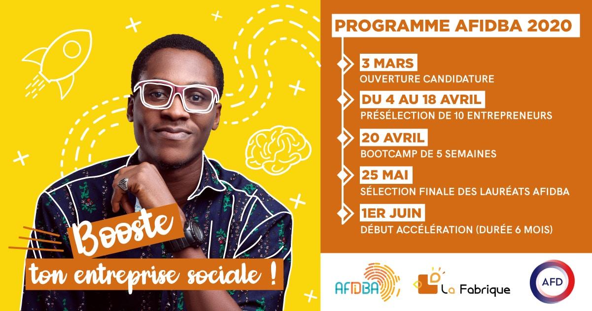 Programme Afidba 2020