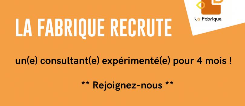 recrutement consultant.e
